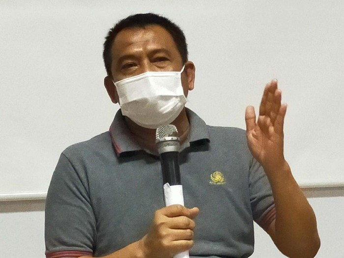 Kepala Dinas Pendidikan Kota Surabaya Supomo