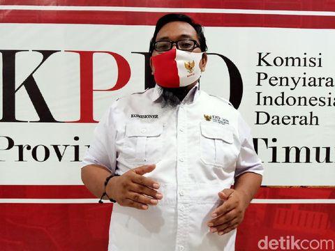 Komisioner KPID Jatim Bidang Penindakan Pelanggaran Isi Siaran, Immanuel Yosua Tjiptosoewarno
