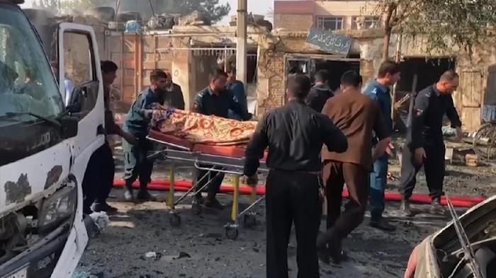 Konvoi Wapres Afghanistan Diserang Bom Bunuh Diri