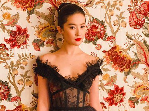 Liu Yifei diprotes