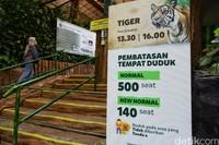 Taman Safari juga menyarakan pengujung untuk membeli tiket secara online.