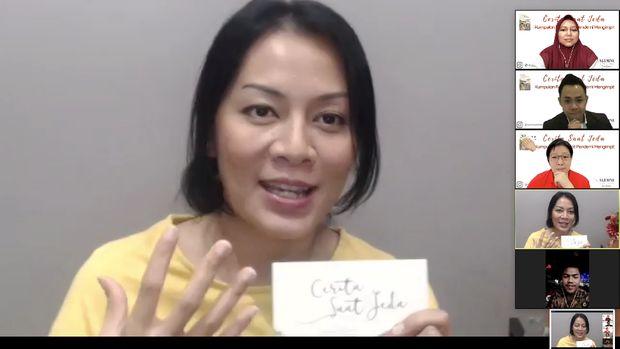 Peluncuran buku antologi Cerita Saat Jeda karya komunitas Semut Merah Kaizen