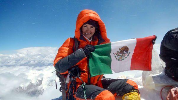 Pendaki wanita Viridiana Álvarez Chávez