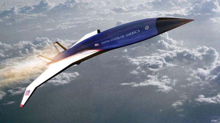 Pesawat Air Force One versi supersonik