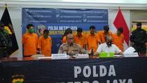 Kompak Curi Motor di Jakarta, 7 Orang Sekeluarga Ditangkap Polisi