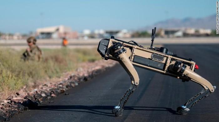 robot anjing US Air Force