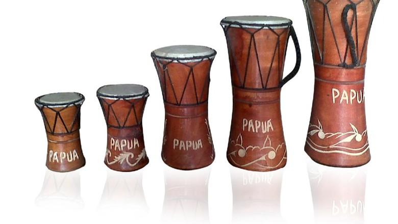 alat musik tradisional papua tifa