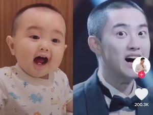 Bayi Asal Semarang Viral Karena Mirip D.O EXO, Ayahnya Mengaku Bingung