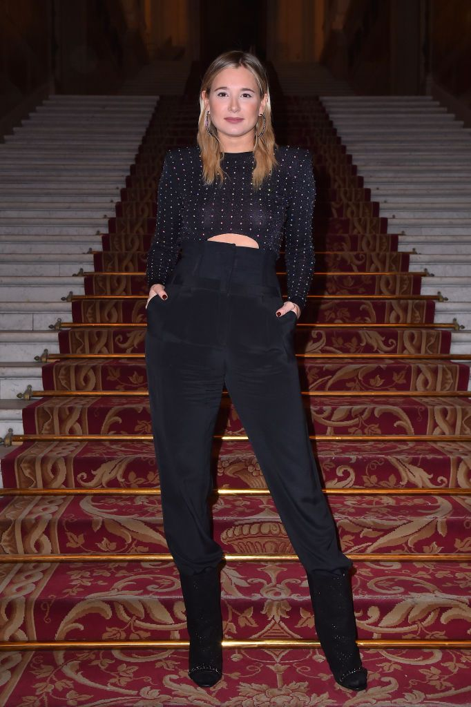PARIS, FRANCE - MARCH 02:  Danielle Bernstein attends the Balmain show as part of the Paris Fashion Week Womenswear Fall/Winter 2018/2019 on March 2, 2018 in Paris, France.  (Photo by Jacopo Raule/Getty Images for Balmain)