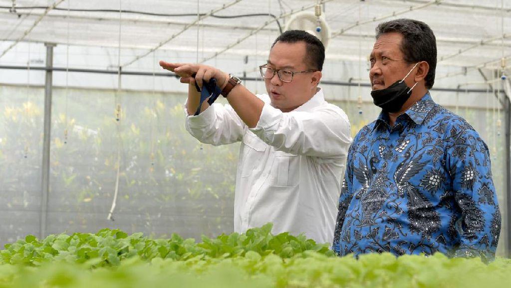 Jaga Ketahanan Pangan, Wamenhan Intip STP IPB Bogor