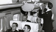 Seperti Ini Bayi Bila Naik Pesawat di Zaman Baheula