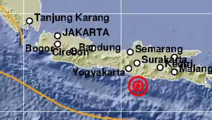 Gempa Pacitan, Jawa Timur