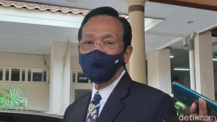 Gubernur DIY, Sri Sultan Hamengku Buwono (HB) X, di DPRD DIY, Kamis (10/9/2020).