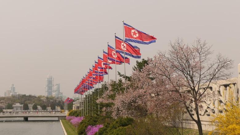 Photo taken in Pyongyang, Democratic Peoples Republic of Korea