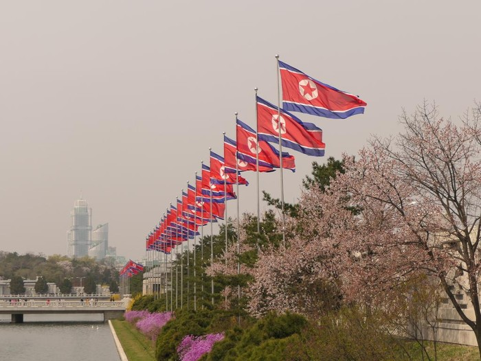 Photo taken in Pyongyang, Democratic Peoples Republic of Korea