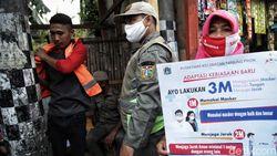 Positivity Rate Covid-19 Indonesia Menurun, Yuk Tetap Lakukan 3M!