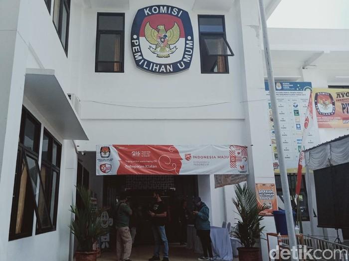 Kantor KPU Klaten, Kamis (10/9/2020).