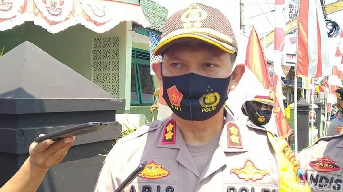 Kapolres Pekalongan AKBP Aris Tri Yunarko, Kamis (10/9/2020).