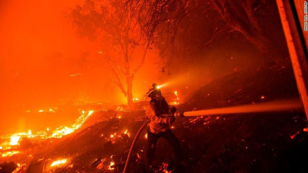 Langit Oranye California, Gubernur: Perubahan Iklim Sudah Darurat