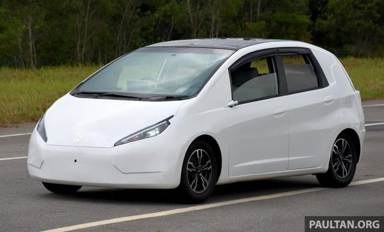 Mobil Listrik Nasional Malaysia