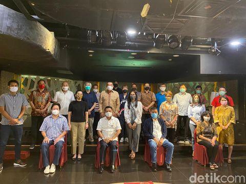 Moeldoko dan sejumlah legenda bulutangkis Indonesia seusai melakukan pertemuan pada Kamis (10/9/2020) di Jakarta.