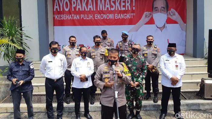 Polda Banten ancam bubarkan kampanye yang mengundang kerumunan