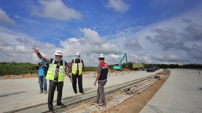 Progres tol Pekanbaru-Padang yang dimulai dari Provinsi Riau