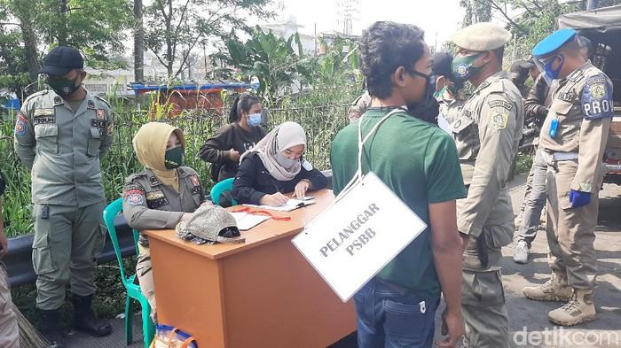 Razia Masker di Bogor