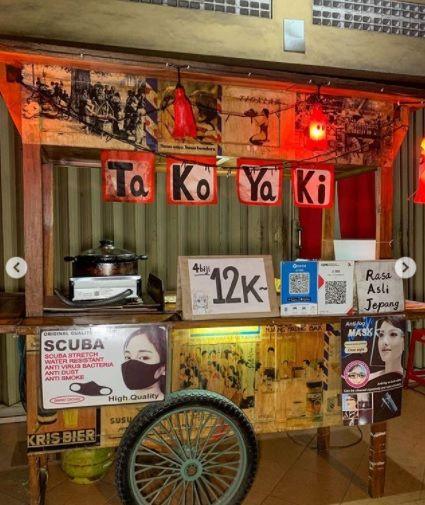 Penjual Takoyaki Asli Orang Jepang di Yogyakarta