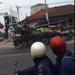 Tips agar Mobil Nggak Nge-drift seperti Tank TNI di Bandung