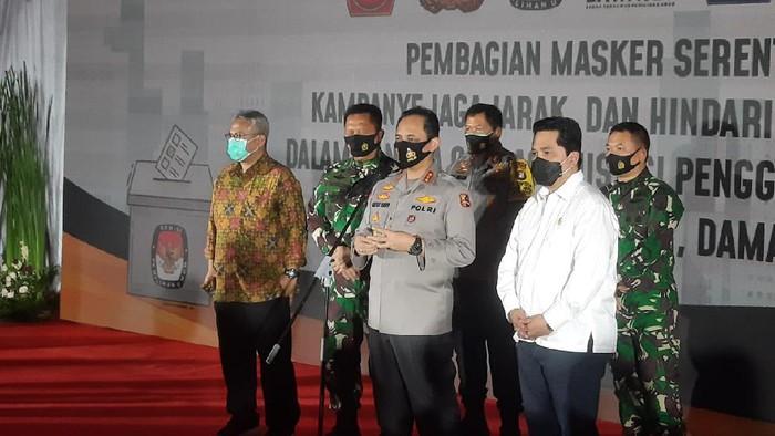 TNI-Polri gelar operasi yustisi tindak warga tak pakai masker