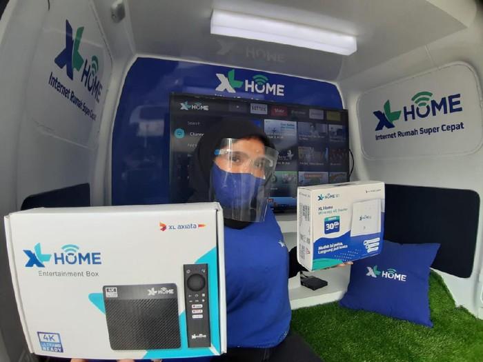Layanan internet rumah XL Home