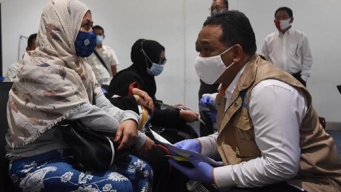 52 Pekerja Migran Indonesia (PMI) yang sempat terlantar di Arab Saudi dipulangkan.