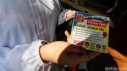 Sosialisasi tanggap TBC dilakukan di kawasan Solo, Jawa Tengah. Hal itu dilakukan guna mencegah penularan TBC di kawasan tersebut.