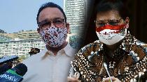 Respons Airlangga soal Pemerintah Pusat Vs PSBB Jakarta