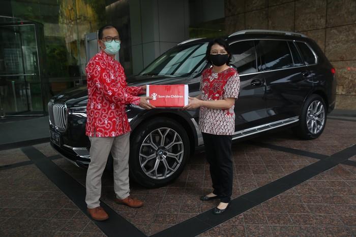 BMW Group Indonesia mendonasikan bantuankhusus untuk anak-anak dalam menghadapi pandemi Corona.