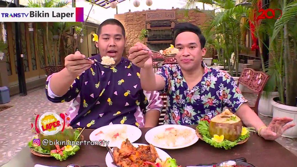 Bikin Laper! Sensasi Nikmat Makan Sup Seafood dalam Batok Kelapa