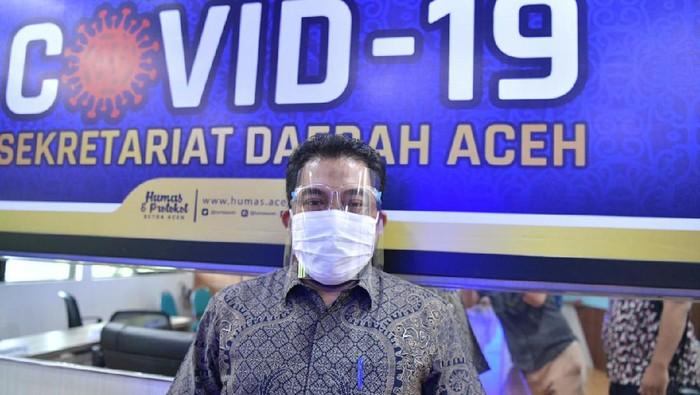 Biro Humas dan Protokol Setda Aceh Muhammad Iswanto