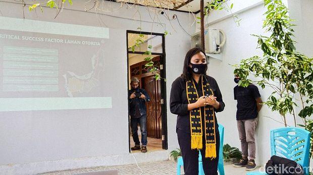 Direktur Utama Direktur Utama Badan Otorita Pariwisata Labuan Bajo (BOPLBF) Shana Fatina