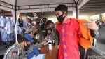 Duh! Ratusan Warga Terjaring Razia Masker di Tanah Abang