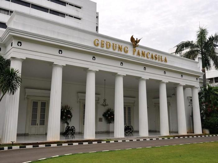 gedung Pancasila di Kemlu