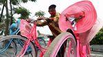 Jasa Sewa Sepeda Hias di Kota Tua Jakarta Terdampak Pandemi