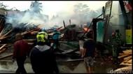 Pabrik Kayu di Tasikmalaya Ludes Terbakar