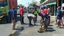 Kecelakaan Beruntun 5 Kendaraan di Kota Pasuruan, Seorang Wanita Tewas