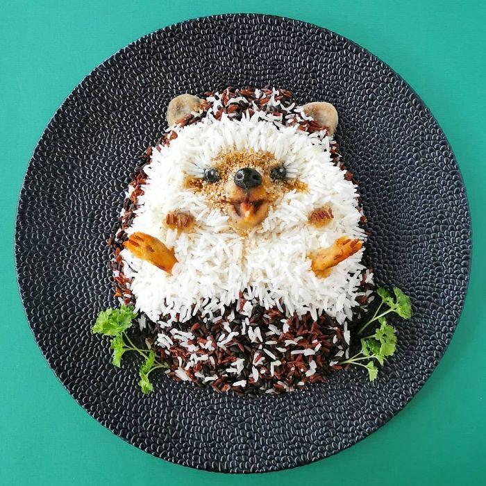 Keren! Aneka Makanan Ini Bentuknya Mirip Seperti Hewan Asli