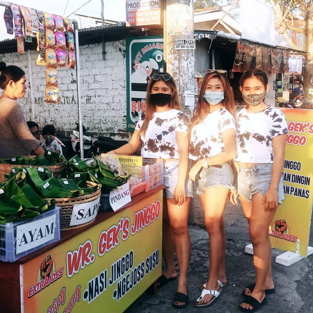 penjual nasi jinggo cantik dan seksi