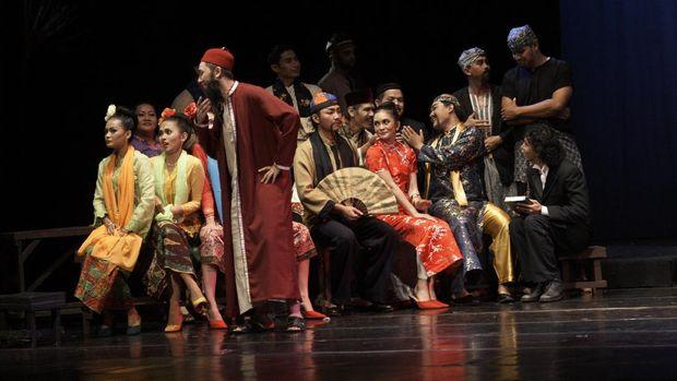 Pertunjukan teater Cinta Dasima di program #NontonTeaterDiRumahAja