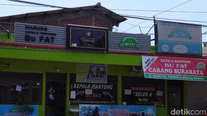 Rumah Makan Kepala Manyung Bu Fat di Kota Semarang