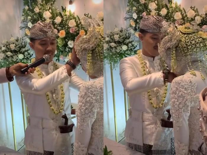 Pernikahan Nadya dan Reza