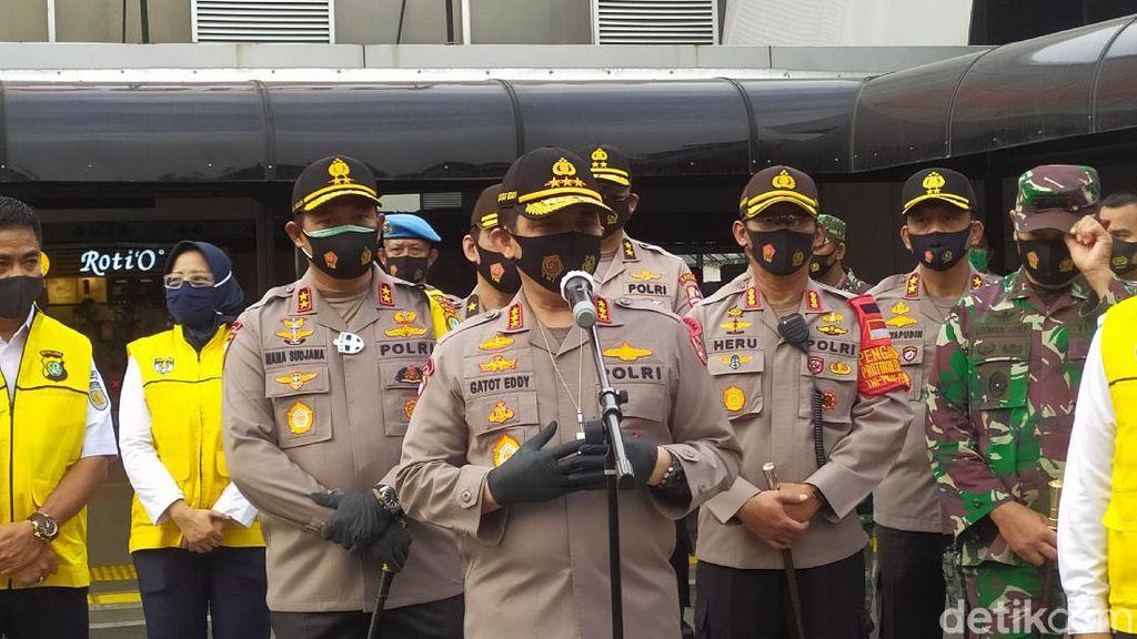 Operasi Yustisi di St Tanah Abang, Wakapolri: Warga Mulai Jenuh Pakai Masker